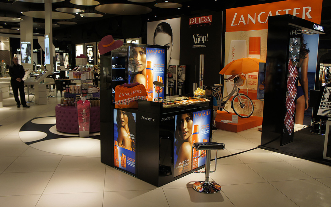 Promocja produktów LANCASTER