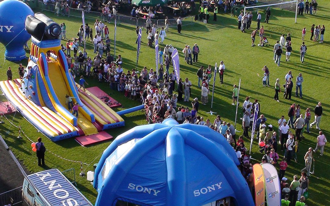 Sony during Summer with Radio